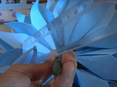 Buquê de Origami   Parte 3