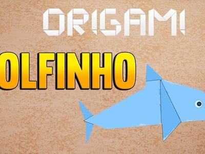 Como fazer um GOLFINHO de Origami - Passo a Passo - DOLPHIN of Paper Folding