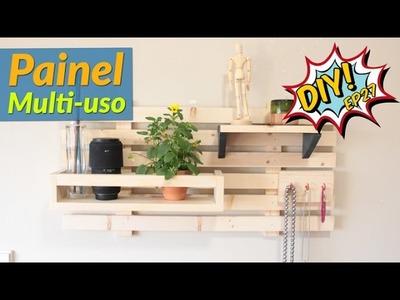 Como fazer um painel multi-uso - DIY