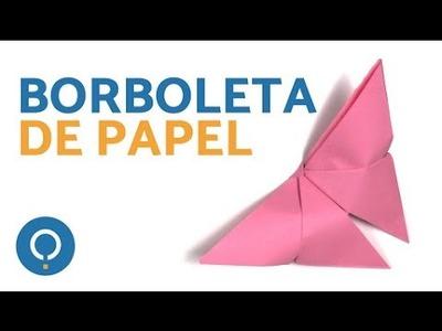 Como fazer uma borboleta de papel | Origami