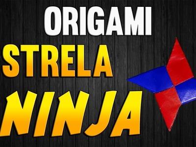 Como Fazer uma ESTRELA NINJA (shuriken) de Origami - Passo a Passo - STAR Paper Folding NINJA
