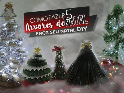 DIY 5 Dicas de Arvores de Natal que você precisa aprender- Faça seu natal DIY