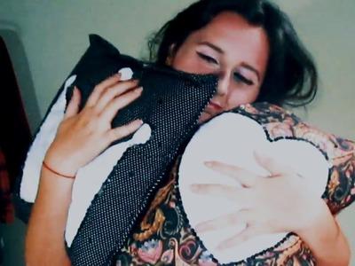 DIY - Almofadas Fofas | Faça você mesma ♥ | Fê Silveira