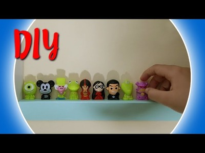 DIY Como fazer prateleira para Gogo´s e outros brinquedinhos - Dora Dorinha