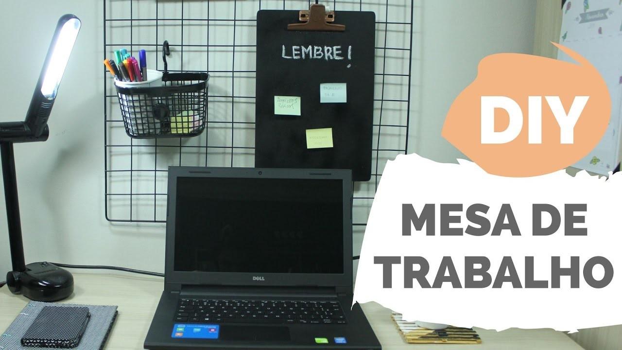 DIY | Decorando mesa de trabalho | Por GavetaMix