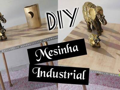 DIY :: DESAFIO MESINHA INDUSTRIAL. Mesa de Canto ft. Rebeca Salvador DIY