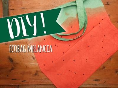 DIY: Ecobag melancia | WESTWING