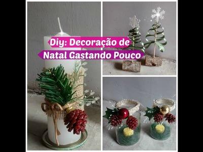 Diy Especial de Natal | Decoração de Natal Rápida Gastando Pouco | Carla Oliveira