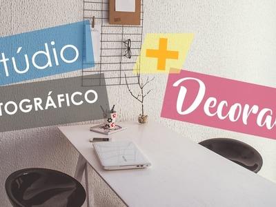 DIY: Estúdio Fotográfico + Decoração