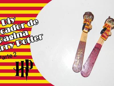 Diy - Marcador de Pagina Inspirado no Harry Potter - Parte 02