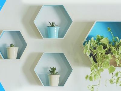 Nichos Hexagonais DIY