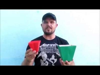 Origami Caixa Centro de Mesa