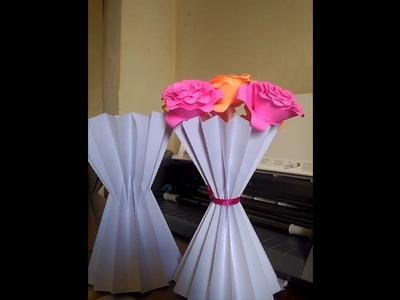 PAP  - Vaso plisado de origami no Silhouette Studio