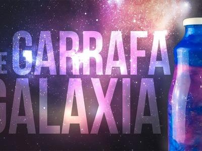 DIY BIG ideias: Garrafa galaxia.nebulosa