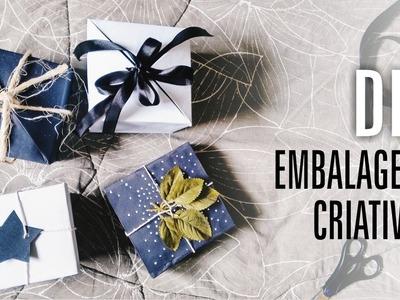 DIY   Caixa de Presente  Embalagens Criativas   Especial de Natal