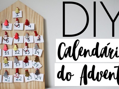 DIY: Calendário do Advento