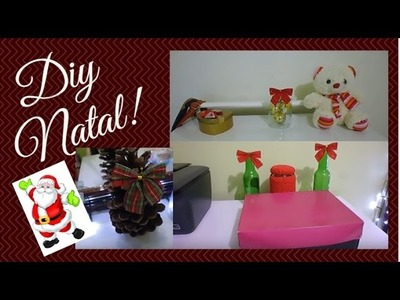 Diy de Natal- Decoração no quarto SEM GASTAR NADA!