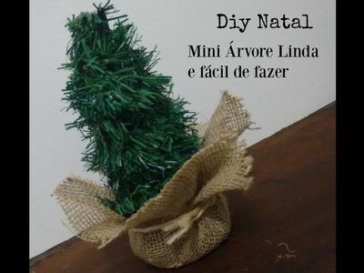 Diy Decoração de Natal Mini árvore linda e fácil de fazer