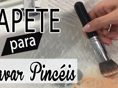 DIY - Tapete de Lavar Pincéis | #Tchuba30Dias | Dia - 13