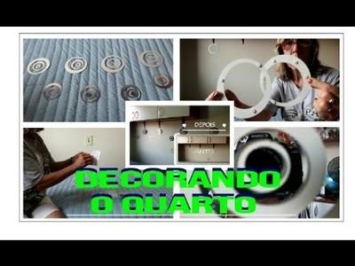 DECORANDO O QUARTO - DIY