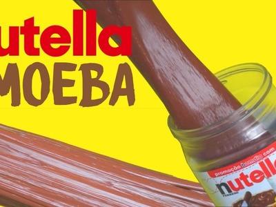 DIY: AMOEBA DE NUTELLA COM COLA ESCOLAR | Amanda Cazura