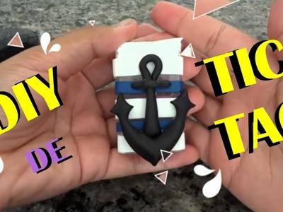 DIY - Apontador de Tic Tac - Tema Marinheiro