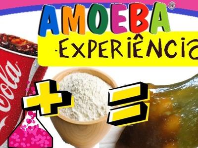 DIY: Como fazer AMOEBA de COCA-COLA! Sem Borax, Sem bicarbonato, sem água boricada e detergente!
