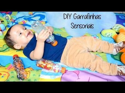 DIY - Faça Você Mesmo Garrafas Sensoriais para Bebês