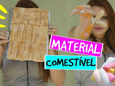 DIY MATERIAL ESCOLAR COMESTÍVEL | DIY EDIBLE SCHOOL SUPPLIES #3