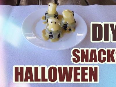 DIY Snacks de Halloween | Ana Beauty Rocks