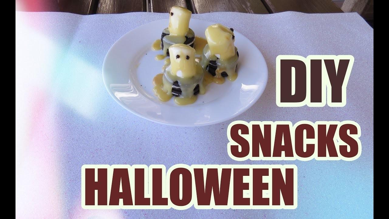 DIY Snacks de Halloween | Ana Beauty Rocks