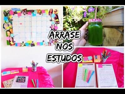 Dicas de Estudo: DIY Organização para ir bem na Escola | Faculdade EAD