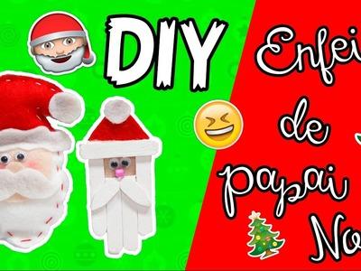 DIY - ENFEITE DE PAPAI NOEL - #PrihTodoDia06