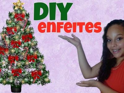 DIY especial de natal   enfeites com palito de picolé, com papel, e cola quente.