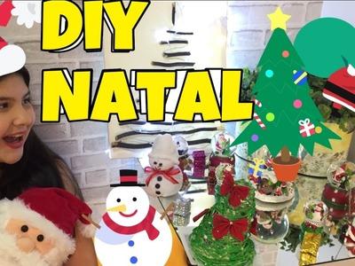DIY Natal Árvores e Boneco Neve Arroz