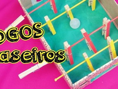 JOGOS CASEIROS | 4 DIY DE BRINQUEDOS CASEIROS! | Ally Arruda