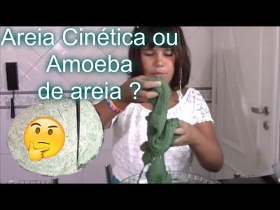 Areia cinética ou Amoeba de Areia  ? Vocês decidem - DIY