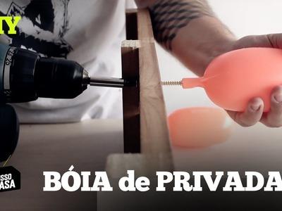 CABIDEIRO com BÓIA de PRIVADA #DIY especial URUGUAI Tente Isso em Casa