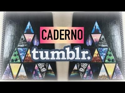 DIY: Caderno Tumblr (Especial de Volta as aulas) | Arte Em Tudo