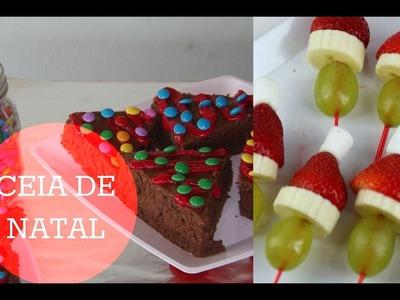 DIY Ceia de Natal - Decoração e sobremesa