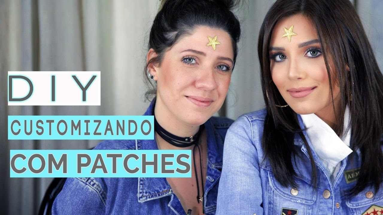 DIY - Customizando com Patches | Mari Sampaio