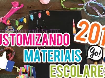DIY- CUSTOMIZANDO MATERIAIS ESCOLARES!