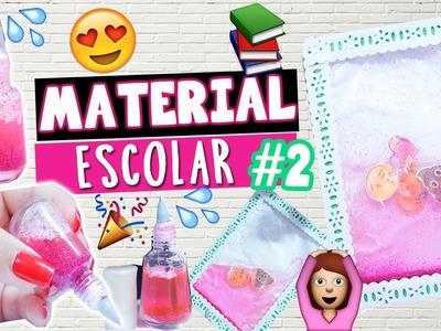 DIY MATERIAL ESCOLAR 2017 #2 |  CANETA LÍQUIDA E CADERNO DE EMOJI!.
