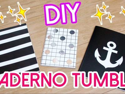 DIY - PERSONALIZANDO SEU CADERNO - ESTILO TUMBLR - #PrihTodoDia18