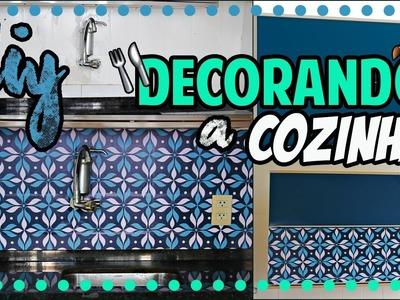 DiY: Reforma da cozinha|Tatiane Xavier