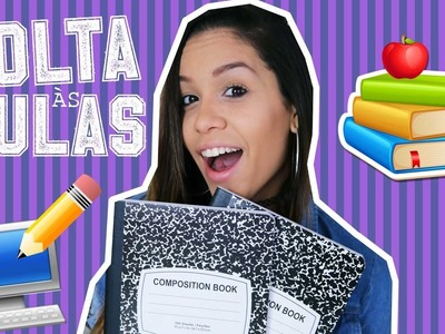 DIY VOLTA AS AULAS: MATERIAL ESCOLAR | Carol Alves