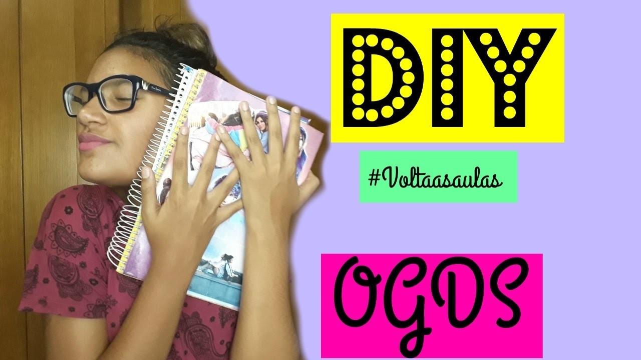 Diy - Caderno personalizado (OGDS). Clara Sousa