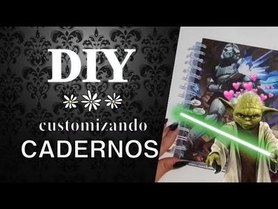 DIY: Como customizo meus cadernos • Thamy Freitas