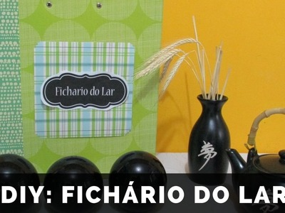DIY: FICHARIO DO LAR - KALINKA CARVALHO HD