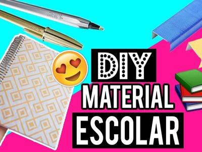DIY MATERIAL ESCOLAR 2017 | DIY SCHOOL SUPPLIES - Única Dica